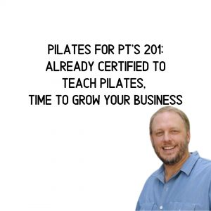 Pilates for PTs 201