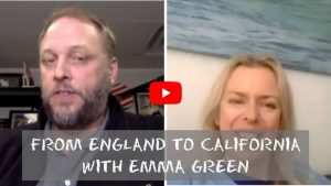 From the England to California with Emma Green