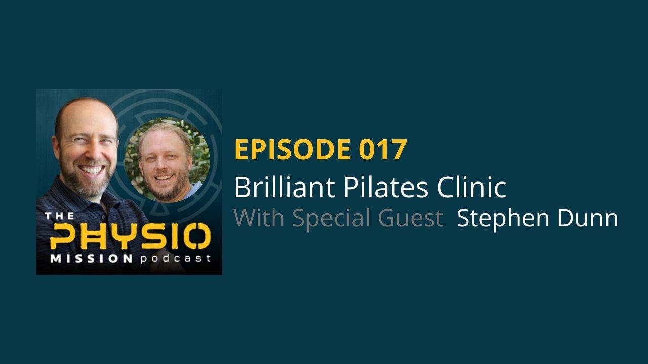 Brilliant Pilates Clinic with Stephen Dunn 3