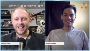 Pilates for PTs Podcast: Interview with Randon Guerpo